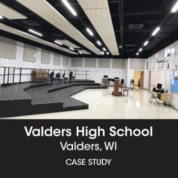 Valders HS music room